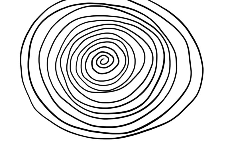 online energizer - drawing a spiral