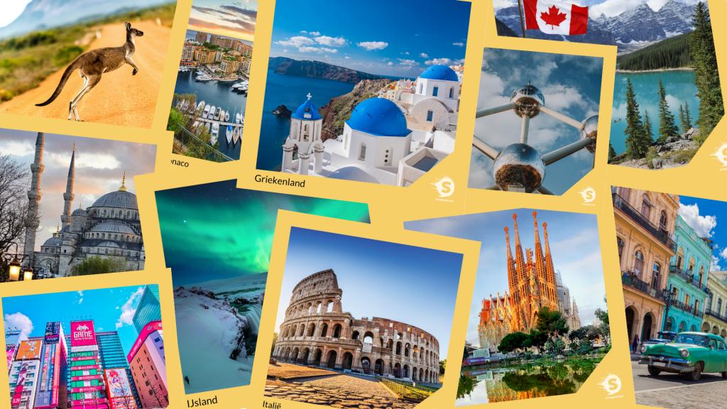 Travelcards (Griekenland, Belgie, IJsland, Japan, Cuba)