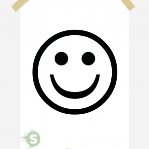 Smiley posterset